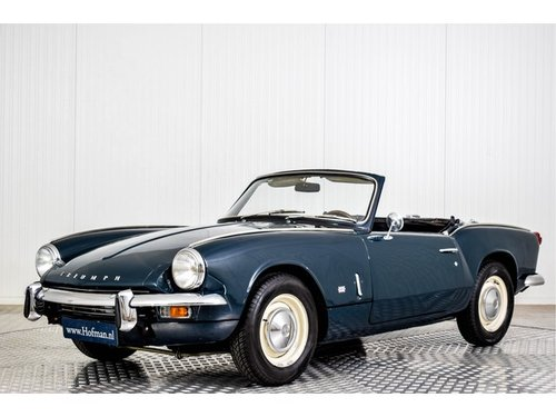 1968 Triumph Spitfire 1300 MK3 Overdrive For Sale (picture 1 of 6)