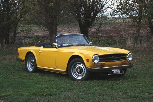 TR6 1972 RESTORED TO EXCEPTIONAL STANDARD SOLD (picture 1 of 5)