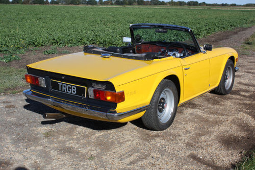 TR6 1972 RESTORED TO EXCEPTIONAL STANDARD SOLD (picture 4 of 5)