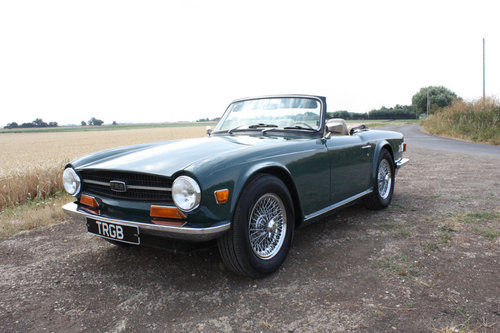 1970 TRIUMPH TR6 FOR SALE SOLD (picture 1 of 6)