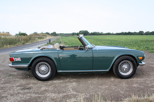 1970 TRIUMPH TR6 FOR SALE SOLD (picture 4 of 6)