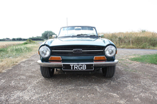 1970 TRIUMPH TR6 FOR SALE SOLD (picture 6 of 6)