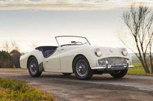 Triumph TR3A 1960 SOLD (picture 1 of 6)