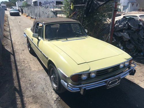 1972 Stag V8 For Sale (picture 1 of 6)