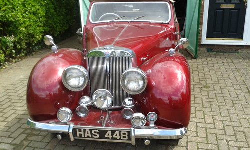 1947  triumph roadster 2000 cc For Sale (picture 1 of 6)