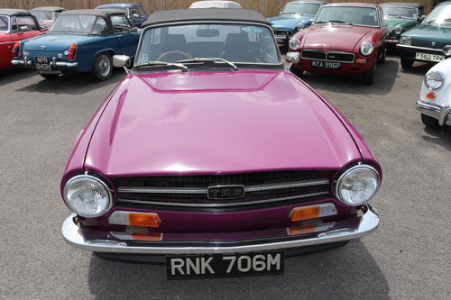 1973 Triumph TR6 in Magenta SOLD (picture 5 of 5)