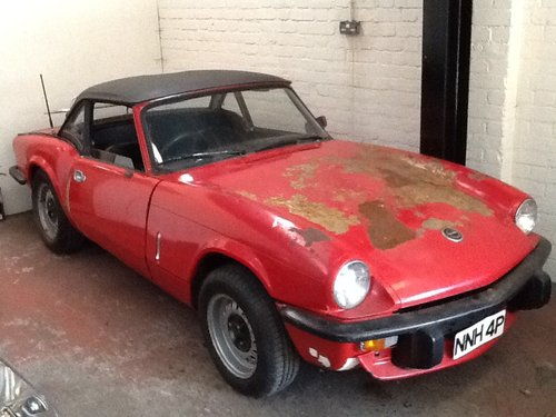 1976 Triumph Spitfire MK4 project SOLD (picture 1 of 6)
