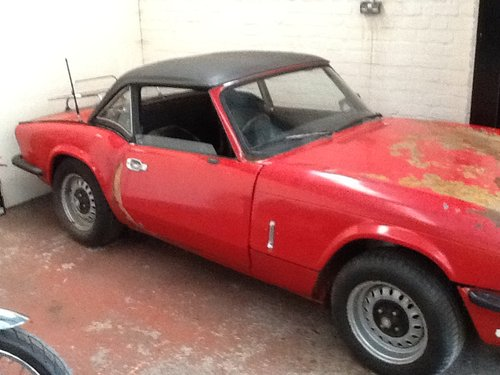 1976 Triumph Spitfire MK4 project SOLD (picture 2 of 6)