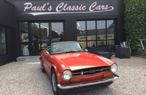 1974 Triumph TR6  For Sale (picture 1 of 5)