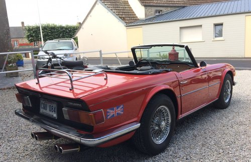 1974 Triumph TR6  For Sale (picture 4 of 5)