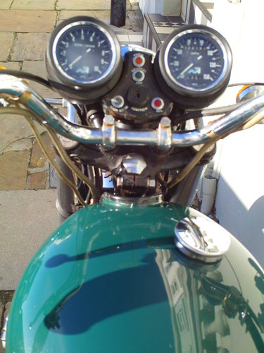 1975 TRIUMPH TRIDENT T160V PROJECT SOLD (picture 5 of 6)