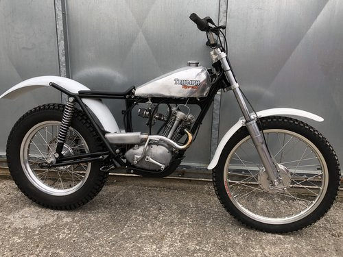 1965 TRIUMPH TIGER CUB TRIALS MINT FANTASTIC BIKE £7250 OFFERS PX For Sale (picture 1 of 6)