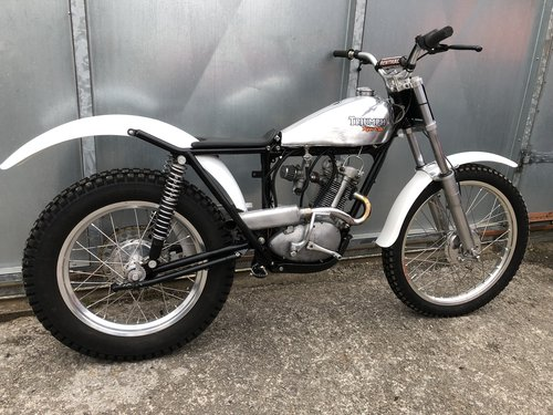 1965 TRIUMPH TIGER CUB TRIALS MINT FANTASTIC BIKE £7250 OFFERS PX For Sale (picture 2 of 6)