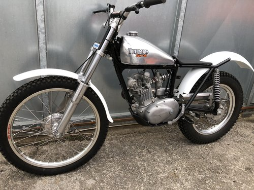 1965 TRIUMPH TIGER CUB TRIALS MINT FANTASTIC BIKE £7250 OFFERS PX For Sale (picture 5 of 6)