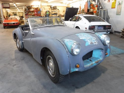 1955 Triumph TR3 small mouth For Sale (picture 1 of 6)