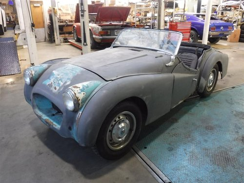 1955 Triumph TR3 small mouth For Sale (picture 2 of 6)