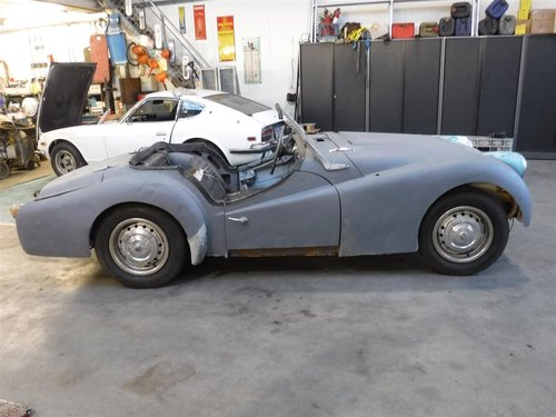 1955 Triumph TR3 small mouth For Sale (picture 6 of 6)