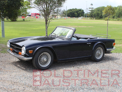 1970 Triumph TR6 'Recommissioned Barn Find' SOLD (picture 1 of 6)