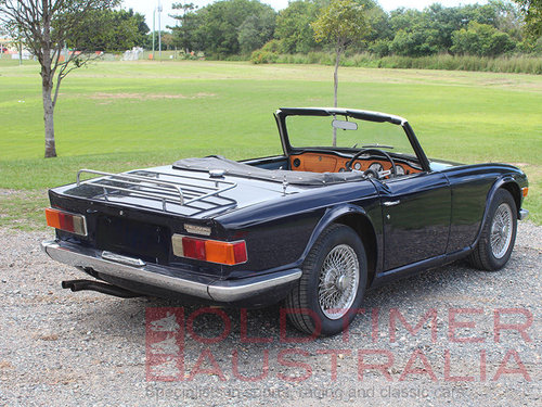 1970 Triumph TR6 'Recommissioned Barn Find' SOLD (picture 2 of 6)