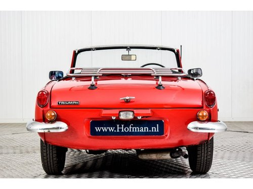 1970 Triumph Spitfire 1300 MK III  Overdrive RHD For Sale (picture 4 of 6)