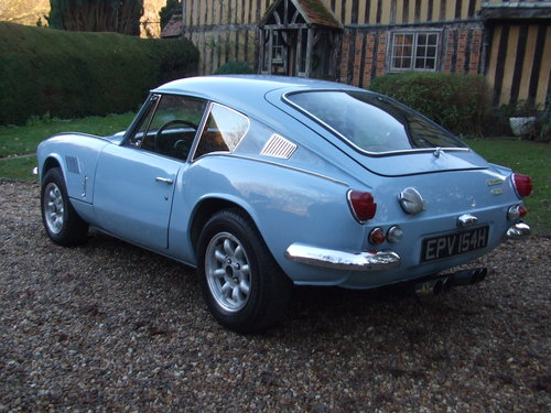 1970 GT6 MK2 SUPER CAR LHD  5 SPEED ,ALLOYS SOLD (picture 3 of 6)