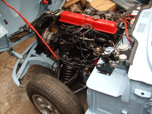 1970 GT6 MK2 SUPER CAR LHD  5 SPEED ,ALLOYS SOLD (picture 5 of 6)