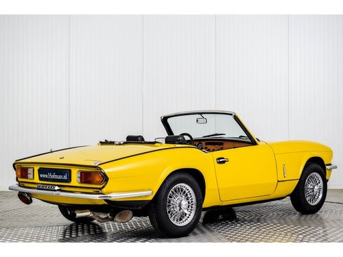 1978 Triumph Spitfire 1500 TC Overdrive For Sale (picture 2 of 6)