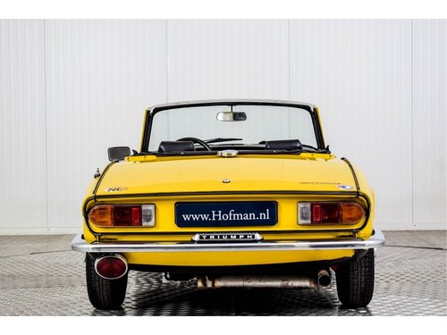 1978 Triumph Spitfire 1500 TC Overdrive For Sale (picture 4 of 6)