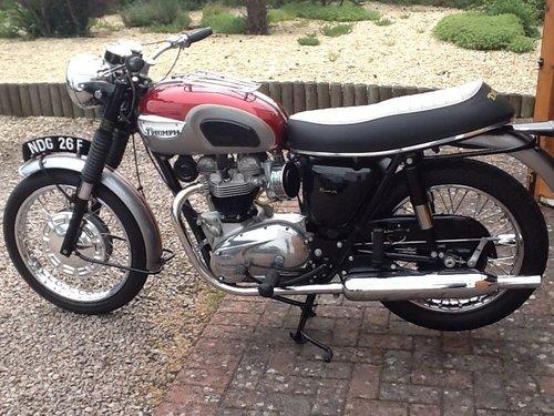 1968 triumph t120 For Sale (picture 2 of 4)