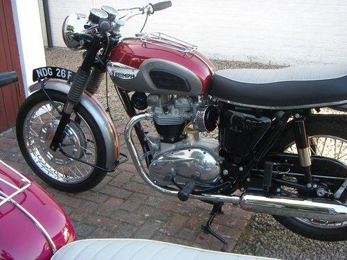 1968 triumph t120 For Sale (picture 3 of 4)