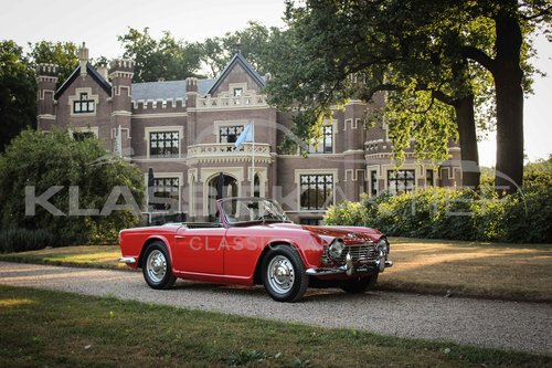 1962 Superb Triumph Tr4 With History For Sale Car And Classic