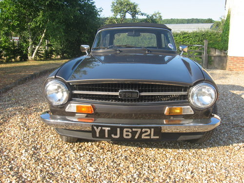 Triumph TR6 1973 CR series with J type overdrive For Sale (picture 1 of 6)