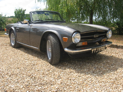 Triumph TR6 1973 CR series with J type overdrive For Sale (picture 2 of 6)