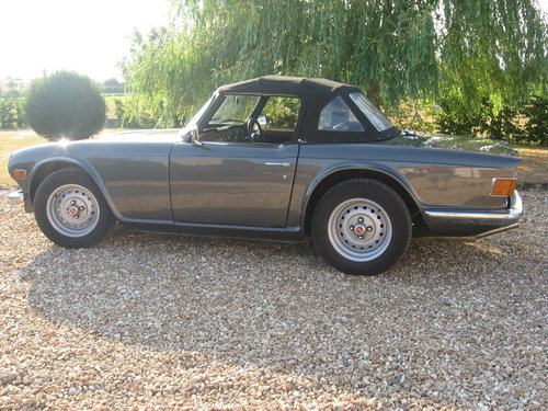 Triumph TR6 1973 CR series with J type overdrive For Sale (picture 3 of 6)