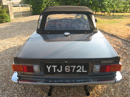 Triumph TR6 1973 CR series with J type overdrive For Sale (picture 4 of 6)