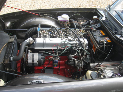 Triumph TR6 1973 CR series with J type overdrive For Sale (picture 5 of 6)