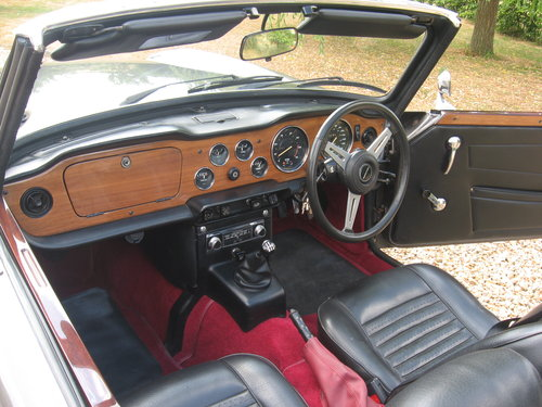Triumph TR6 1973 CR series with J type overdrive For Sale (picture 6 of 6)