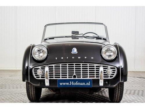 1962 Triumph TR3 TR3B For Sale (picture 3 of 6)