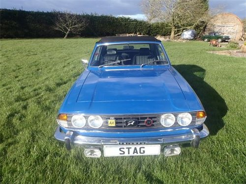 Triumph Stag WANTED For Sale (picture 1 of 1)
