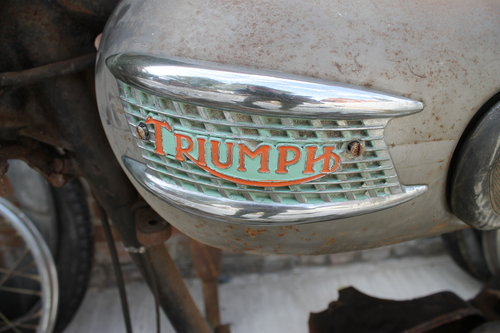 1956 Triumph T110 With Just 20k Miles One Owner, 50 Years Storage SOLD (picture 3 of 6)