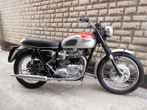 1969 Triumph Bonneville t120 For Sale (picture 1 of 6)