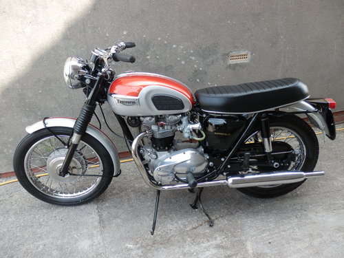 1969 Triumph Bonneville t120 For Sale (picture 4 of 6)