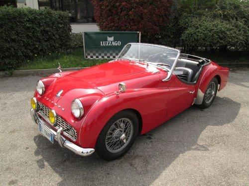 1958 TRIUMPH - TR3A For Sale (picture 1 of 6)