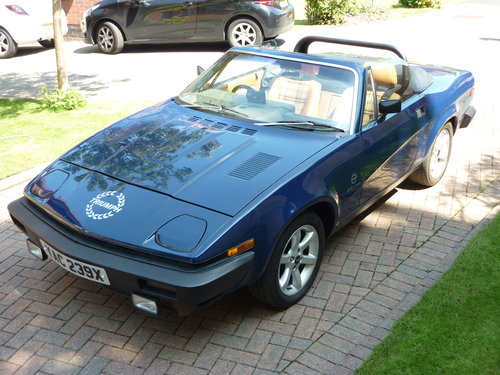 1982 Triumph TR7V8 convertible SOLD (picture 1 of 6)