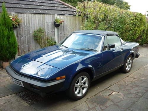 1982 Triumph TR7V8 convertible SOLD (picture 3 of 6)