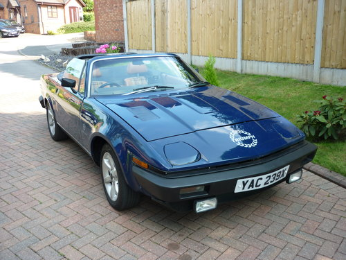 1982 Triumph TR7V8 convertible SOLD (picture 4 of 6)