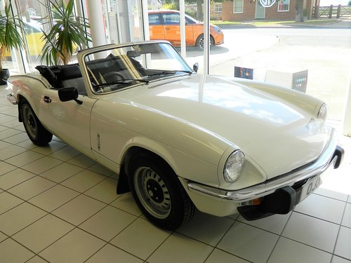 1981 TRIUMPH SPITFIRE 1500 For Sale (picture 1 of 6)