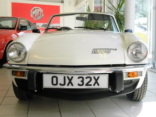 1981 TRIUMPH SPITFIRE 1500 For Sale (picture 2 of 6)