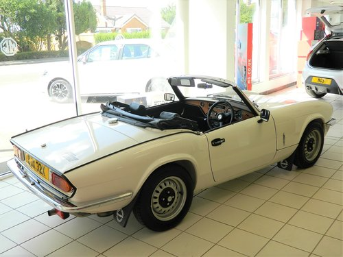 1981 TRIUMPH SPITFIRE 1500 For Sale (picture 3 of 6)