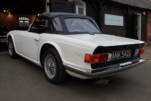 1969 TRIUMPH TR6 WHITE MANUAL  For Sale (picture 3 of 6)